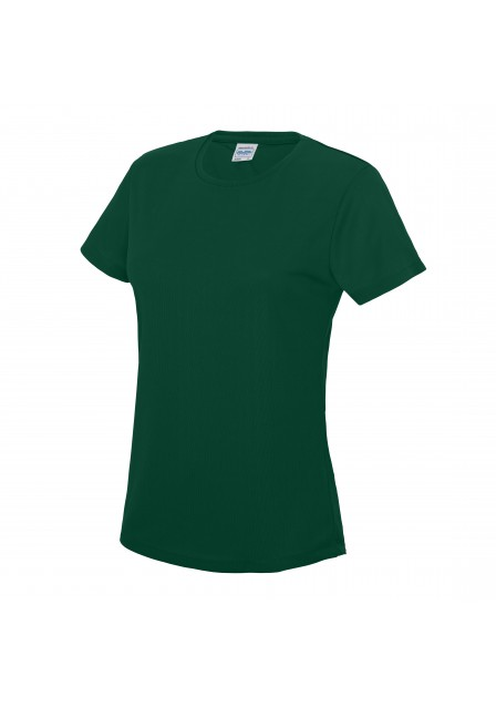 Female bottle green t shirt