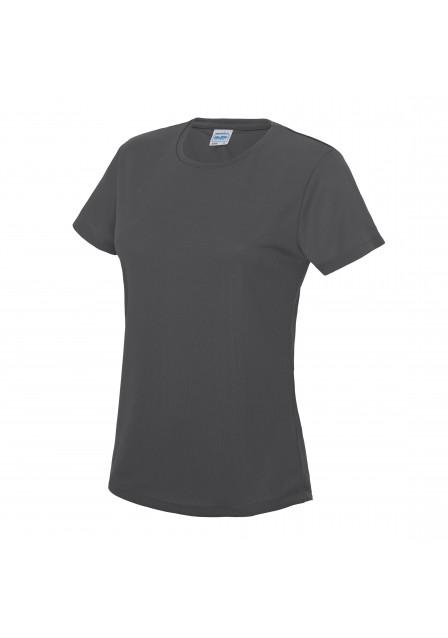 Female t shirt charcoal