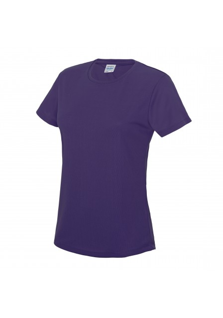 Female purple t shirt
